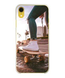 Apple iPhone Xr Hard case (back printed, transparent)