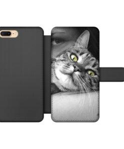 Apple iPhone 7 Plus / 8 Plus Wallet case (front printed)